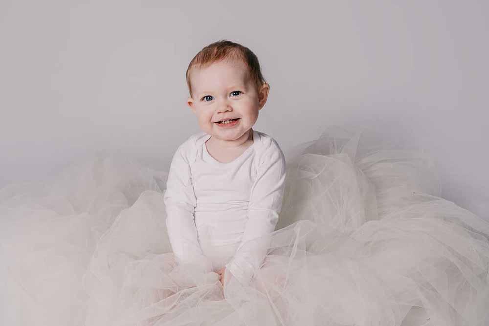vælg en tålmodig børnefotograf