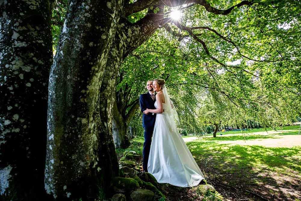 Bryllupsfotografering på hele fyn og øer