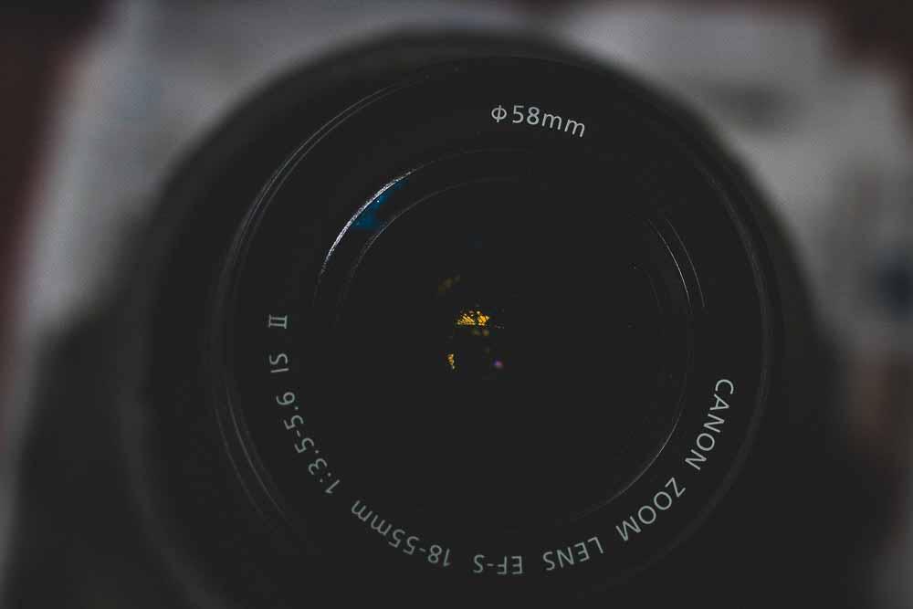 Objektivet er kameraets hjerte