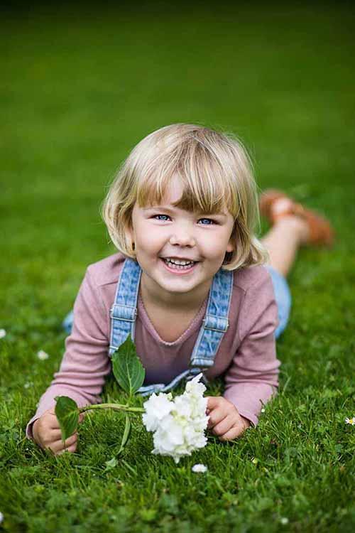 børnefotografer i naturen